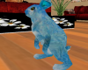 blue bunny pet
