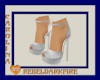 (CR) White Heels