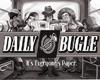Daily Bugle Noir Sign