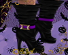 Witch Purple Boots