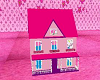 lv girl play doll house