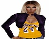 Lakers 24 Leather& Tee