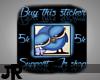 5k jr shop sticker