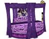 purple butterfly bed