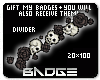 Gothic Skull Divider 2