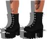 Spiked Platform Boots