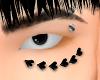 black heart piercings