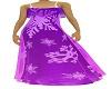 purple snowflake gown