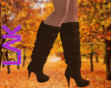 Fall boots brown