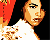 Aaliyah Pic w/Frame 01