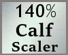 Scale Calf Calve 140% MA