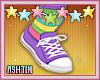 ! KID Rainbow Clown Shoe