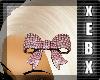 -Pink Diamond Bow-