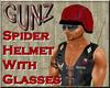 @ Spider Helmet w/glass