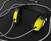 HeadPhones yellow.