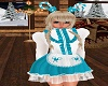 Kids CC Dress Teal