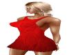 Dress Red Pattern Mini