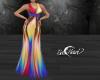 Rainbow Sling Dress