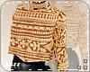 Ls| Short Sweater Brown