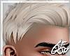 "Ⱥ"" Bleach Blonde Short Hair"
