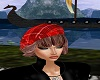 Red Scotish Beret/ Choco