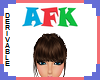 (S) AFK Head Sign