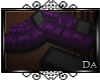 {D} Lotus Couch purple