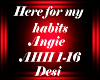 D! here 4 my habits-AHH