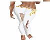 (goto) white rip jeans