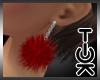 [Tok] Noelz Red Earring