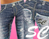 [SC] Distressed Jeans