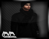 (AR)Black Jacket & Scarf