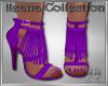 Ileana Purple Heels