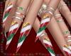  S  Christmas Nails