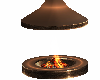 round fire place