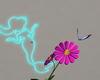flower anim butterflies
