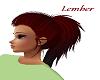 Redhair ponitail