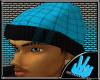 [LF] Plaidii Hat- Blue