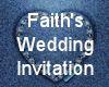 (MR) F & C Wed Invite