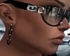Black Chains Earrings