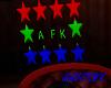 a f k head sign