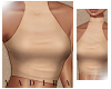 Beige Turtle Crop - L