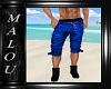Dilan Blue Shorts M