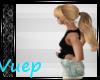 -V- Blonde PonyTail