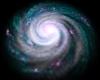 Neon Spiral Galaxy 3