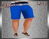 !b Kid-Men Shorts Blue