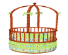 MICKEY GREEN BABY BED