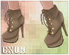 Cute Heels Boots | Brown