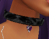 a black chocker