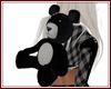 Teddy Bear Backpack Blk